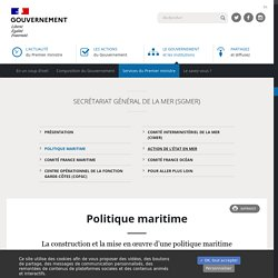 SGMER - Politique maritime