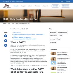 State GST