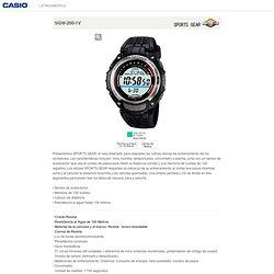 SGW-200-1V - Relojes - CASIO