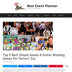 Top 5 Best Shaadi Games & Indian Wedding Games for Perfect Joy