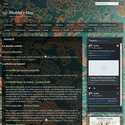 Shabba's blog Shabba's blog