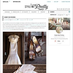 Shabby Chic Wedding | Style Me Pretty : The Ultimate Wedding Blog