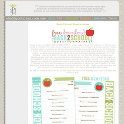 ShabbyPrincess :: Free Scrapbooking Kits, Digital Scrapbooking,
