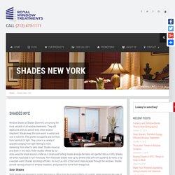 Shades NYC, Shades Store NYC