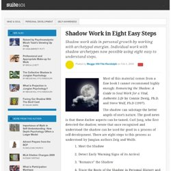 Shadow Work in Eight Easy Steps