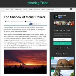The Shadow of Mount Rainier