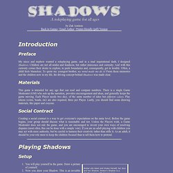 Shadows - A Harlekin-Maus Roleplaying Game