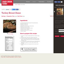 Shady Brook Farms® Turkey