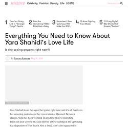 Who is Yara Shahidi Dating Currently? - All About Yara Shahidi's Love Life