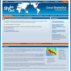 Southern San Andreas ShakeOut Scenario