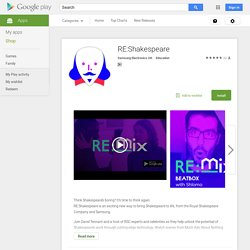 RE:Shakespeare – Android Apps on Google Play