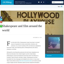 Shakespeare and film around the world