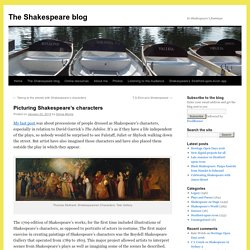 Picturing Shakespeare's characters