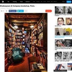 Shakespeare & Company bookshop, Paris.
