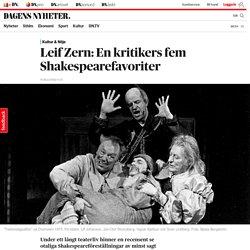 Shakespeare 400 år: Bästa föreställningarna enligt DN:s Leif Zern