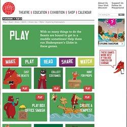 Shakespeare Games for Kids