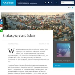 Shakespeare and Islam