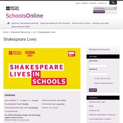 Shakespeare Lives