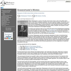 shakespeare resource center The resource center includes contemporary authors online, contemporary literary criticism select, and dictionary of literary biography online, plus selected full-text.