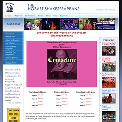 Rafe Esquith and The Hobart Shakespeareans Official Website