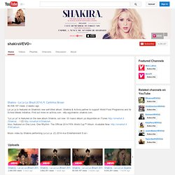 shakiraVEVO's Channel
