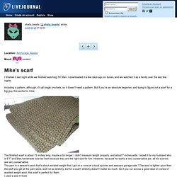 shala_beads: Mike's scarf