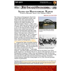 Selma-to-Montgomery March