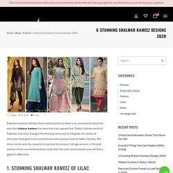 Shalwar Kameez Designs for 2020