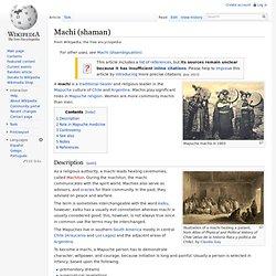 Machi (shaman)