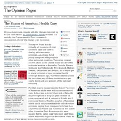 Damian: The Shame of American Health Care