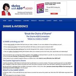 Shame & Avoidence