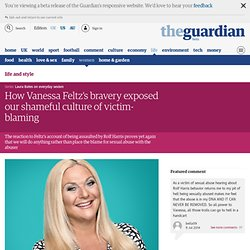 How Vanessa Feltz's bravery exposed our shameful culture of victim-blaming