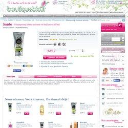 Santé - Shampoing hénné volume et brillance 200ml - Boutique bio