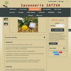 Après-Shampoing Solide l'Eau Dacieuse - Savonnerie Sativa