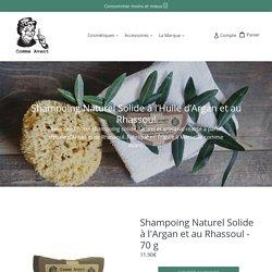 Shampoing Naturel Bio Solide à l'Argan et au Rhassoul