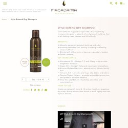 Buy Style Extend Dry Shampoo by Macadamia Professional