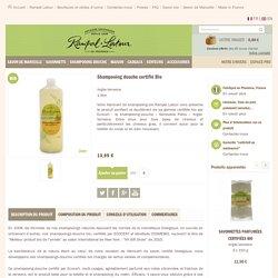 Shampooing bio - argile verte - cheveux gras - Verveine - 1 L
