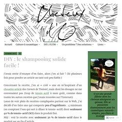 DIY: le shampooing solide facile! – Cheveux d'O