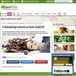 Shampooings naturels : henné, rhassoul et bardane