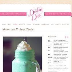 Shamrock Protein Milkshake!