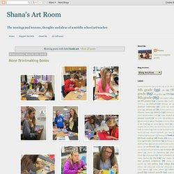 Shana's Art Room : book art