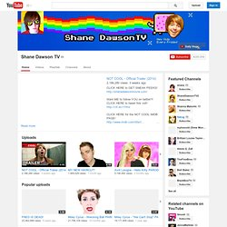 ShaneDawsonTV's Channel‬‏