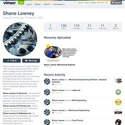 Shane Lowney on Vimeo