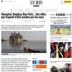 Shanghai, Bombay, New York... Ces villes qui risquent d'être avalées par les eaux