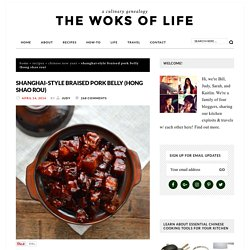 Shanghai-Style Braised Pork Belly (Hong Shao Rou) - The Woks of Life