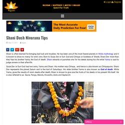 Shani Dosh Nivarana Tips