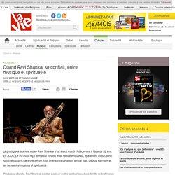 Quand Ravi Shankar se confiait, entre musique et spiritualité - Musique