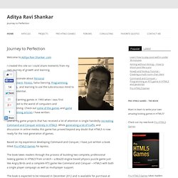 Aditya Ravi Shankar | Journey to Perfection