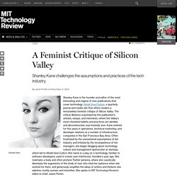 "Shanley Kane of Model View Culture Challenges a ""Corrupt"" Silicon Valley"