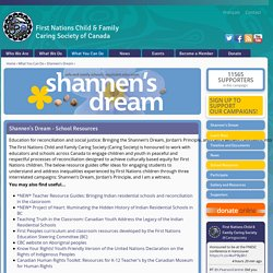 Shannen's Dream - School Resources